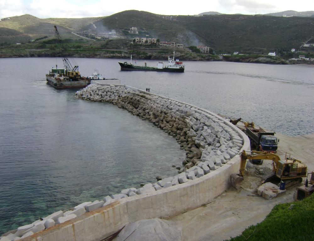 10. Completion of Works at Korrisia Harbour in Kea Island