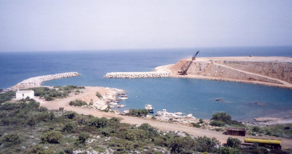 11. The manoeuvres area of Airport of Ikaria