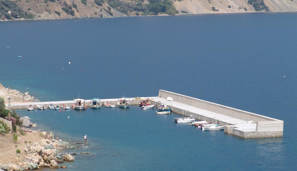 12. Construction of a fishing Port at Ilia, Evia
