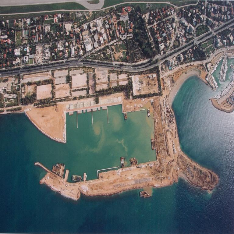 2. Construction of Olympic Sailing Center in Agios Kosmas