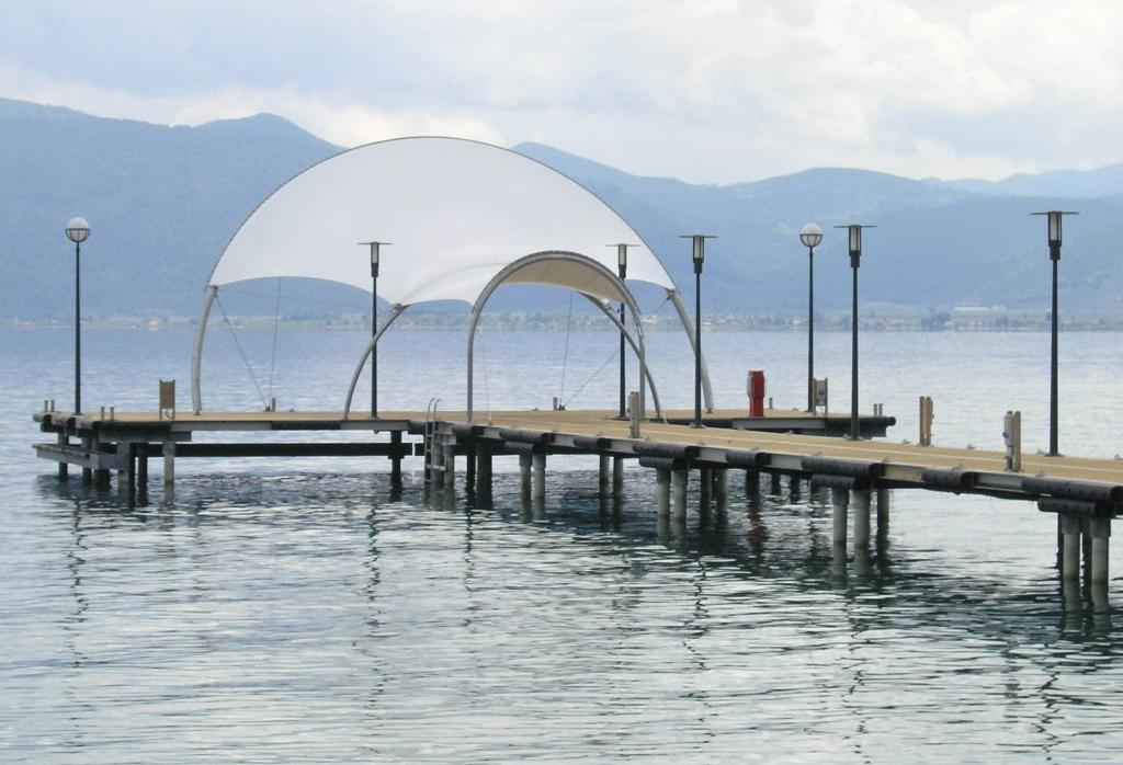 "7. Construction of a tourist port for the ""Club Med"" in Gregolimano"