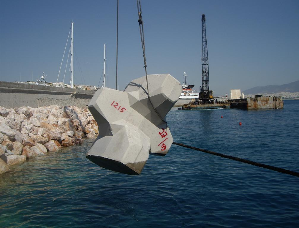 9. Improvement of the technical charateristics of the Main Breakwater at Zea Marina, Pireaus