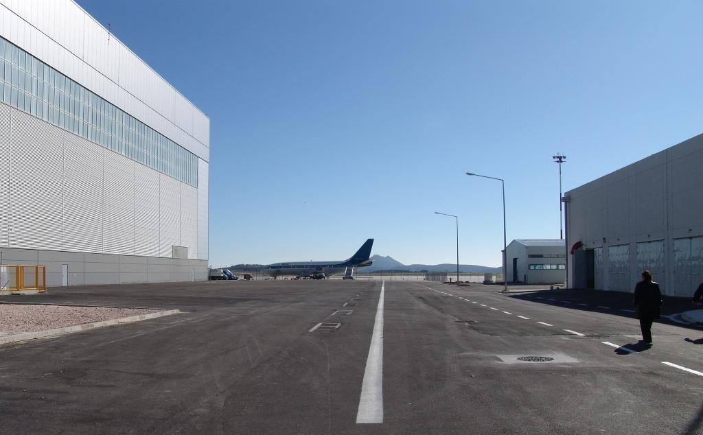 1. Infrastructure Facilities at the Technical Base of the Olympic Airways Homebase at the Eleftherios Venizelos International Athens Airport