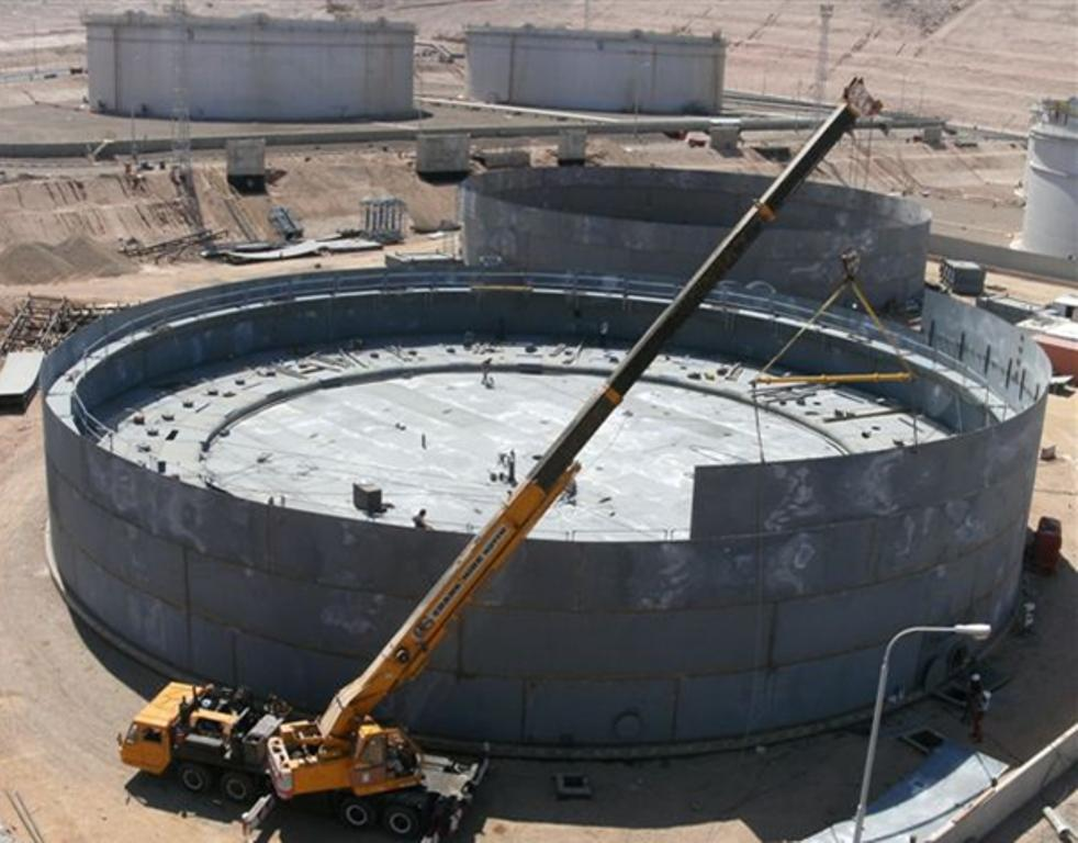 1. Design, Supply and Construction of Two Fixed Roof Jet Fuel Storage Tanks at JPRC's Station in Queen Alia International Airport (QAIA) & Two Floating Roof Gasoline Storage Tanks at JPRC's Petroleum Facilities South Aqaba