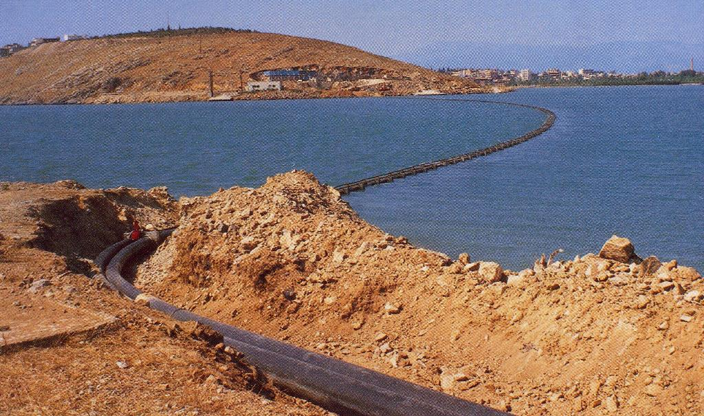 10.Submarine Pipelines for the Sewage and Septics Treatment Plant of the city of Chalkis