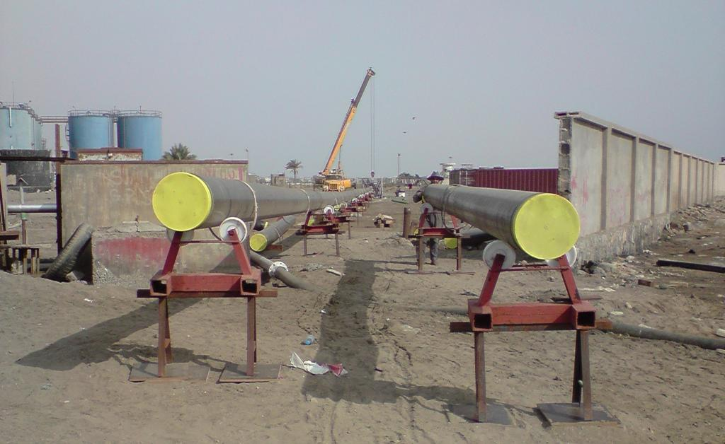 3. Reconstruction of two (2) 14'' Submarine Pipelines at the Hodeidah Port at the Plant of Yemen Petroleum Company