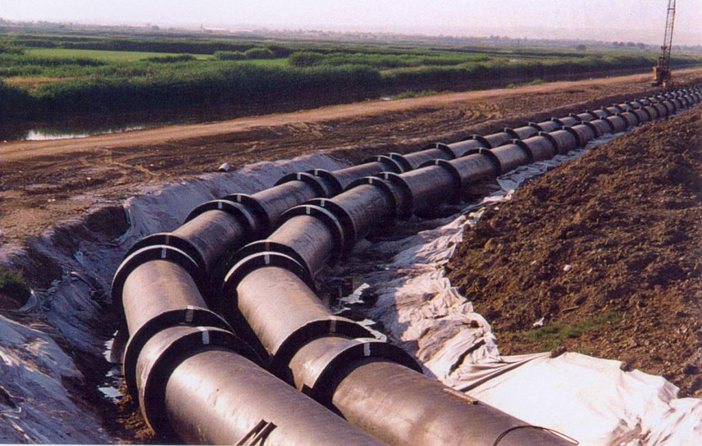 7. Construction & laying of the treated sewage water twin pipeline outfold in Thessaloniki